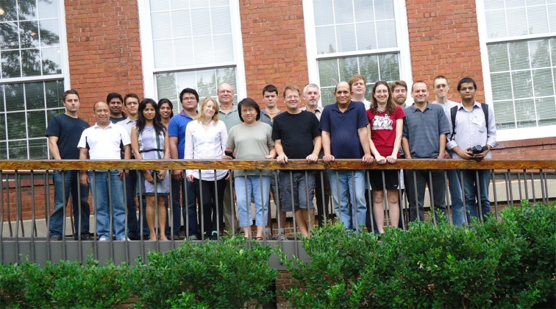 Students and tutors from the 2012 GMOD Summer School