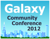 2012 Galaxy Community Conference